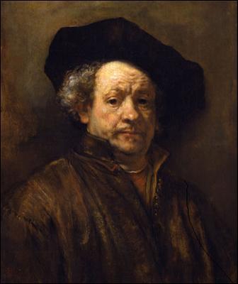 Rembrandt Self Portrait  - 1660