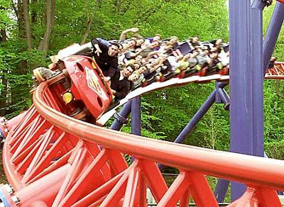 Ride of Steel at Darien Lake - I've been on this one